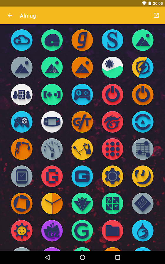 Almug - Icon Pack Screenshot 13
