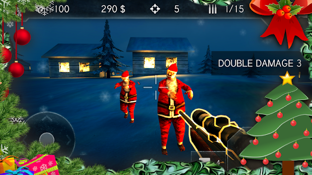 Santa Zombie Shooter apk screenshot