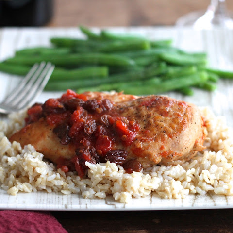Chicken W/Sweet & Zesty Raisin Sauce