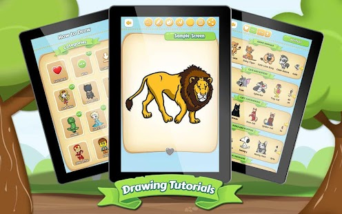 How to Draw Wild Animals - screenshot