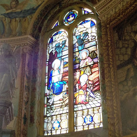 Stained Glass Window by Sarah Harding - Novices Only Street & Candid ( window, church, art, novices only, stained glass )