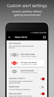 App CNN Breaking US & World News APK for Windows Phone