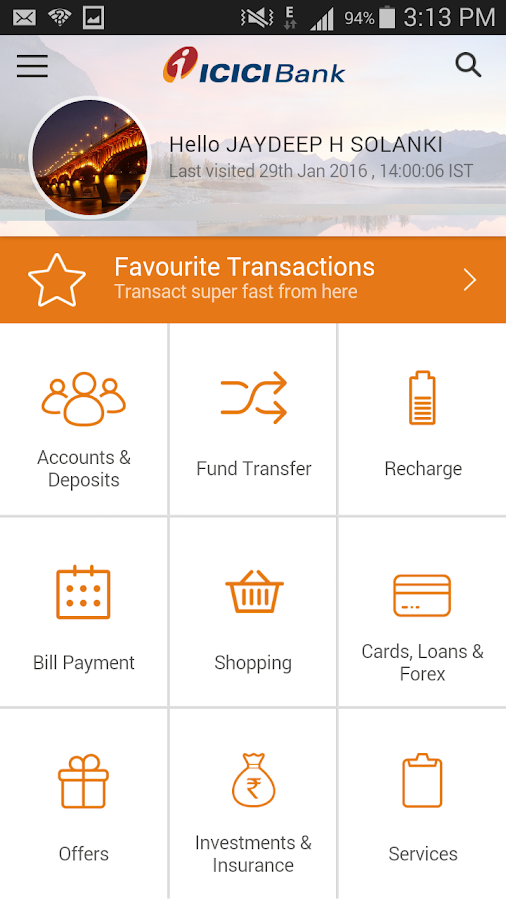 ICICI Mobile Banking - iMobile Screenshot 0