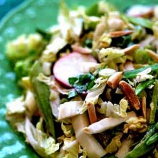 Napa Cabbage Pea Salad Recipes