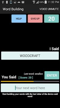 Word Building apk screenshot