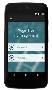 Yoga Tips For Beginners - screenshot