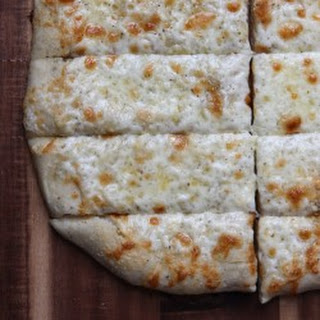 Cheesy Garlic Pizza Bread Sticks