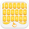TouchPal Cheese Keyboard Theme