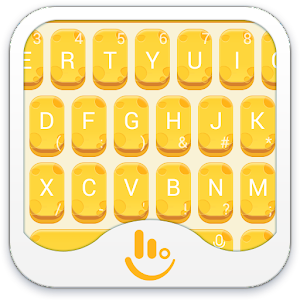 Cover art TouchPal Cheese Keyboard Theme