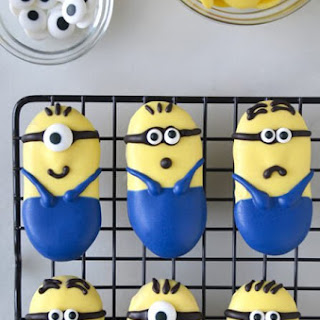 No-Bake Minions Cookies