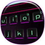 3D Neon Keyboard Theme Icon