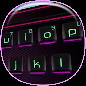 3D Neon Keyboard Theme APK for Blackberry