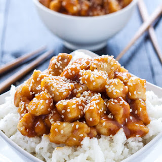 Honey Sriracha Sesame Chicken