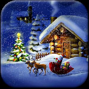 Рождественская Ночь Живые Обои