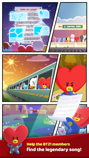 PUZZLE STAR BT21 For PC
