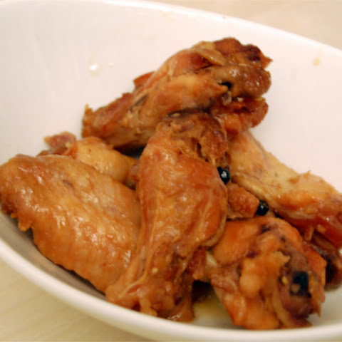 Honey Garlic Chicken Wings in the Crock Pot