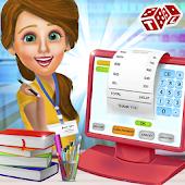 High School Book Store Cashier - Kids Game