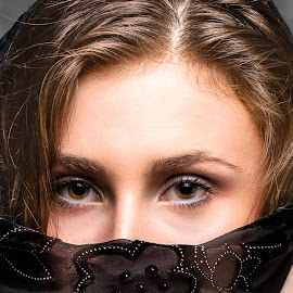 Biana Eyes by Carl Albro - People Portraits of Women ( woman, portrait, eyes )