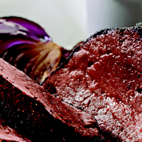 Coffee-Crusted Beef Tenderloin