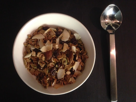 Worlds best home made muesli
