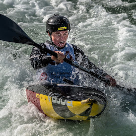 Attacking by Mike Watts - Sports & Fitness Watersports ( canoe, kayak, women, whitewater )