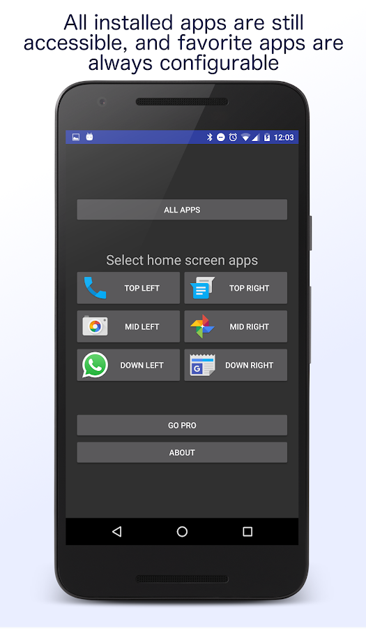 Senior Homescreen Pro Screenshot 4