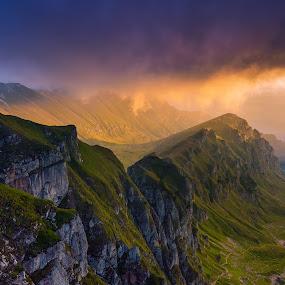 Disruption by Lucian Satmarean - Landscapes Mountains & Hills