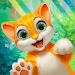 Garden Pets: Match-3 Dogs & Cats Home Decorate Icon