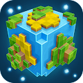 Planet of Cubes Survival MMO APK for Bluestacks