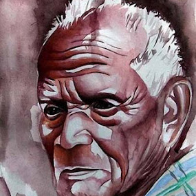 water colour on paper by Anand Sharma - Painting All Painting