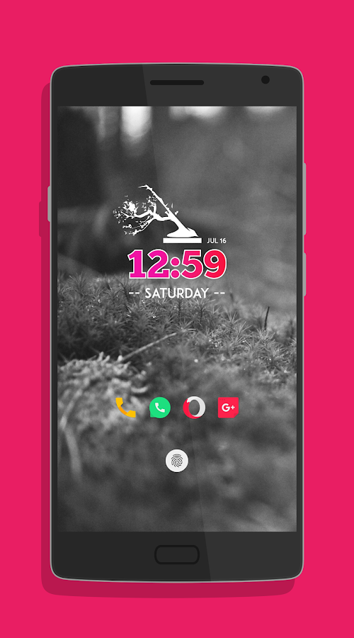 minimo kwgt Screenshot