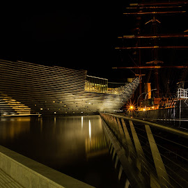 V&A Dundee by Iain Cathro - Buildings & Architecture Public & Historical ( v&a, museum, rss discovery, kengo kuma, river tay, dundee, scotland, architecture )