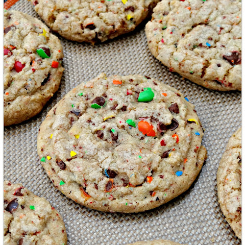 M&M Confetti Cookies