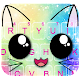 Galaxy Cuteness Kitty Keyboard Theme APK
