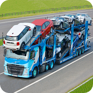 Car Transport Trailer 2017 Icon