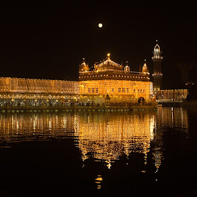 Founders Day by Jatin Malhotra - Buildings & Architecture Places of Worship ( golden temple, 17th nov, lighting, guru nanak dev birthday, amritsar )