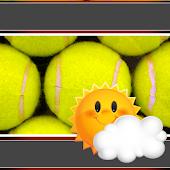 Tennis Clock-Weather Widget APK for Bluestacks