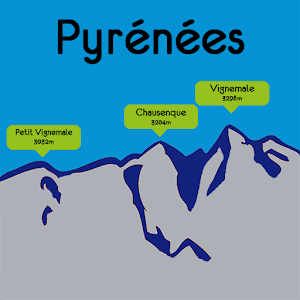 Cover art Pyrenees Mountains