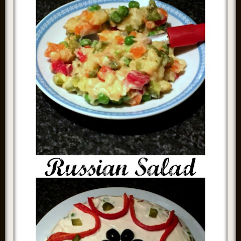 Russian Salad or salata de boeuf