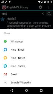 Advanced Offline Dictionary APK for Blackberry