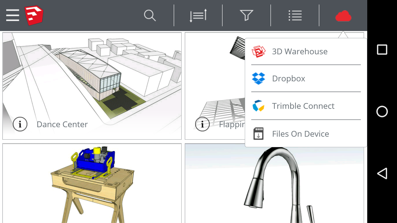 SketchUp Viewer Screenshot
