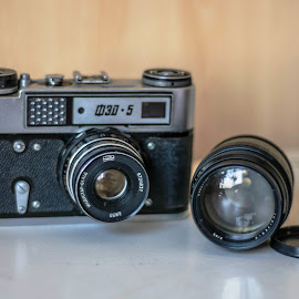 My first camera.. A robust FED-5 by Hariharan Venkatakrishnan - Artistic Objects Other Objects