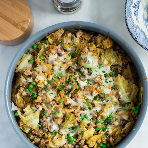 Ground Turkey Cabbage Skillet