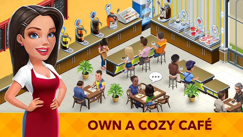 My Cafe: Recipes & Stories - World Cooking Game Screenshot 0