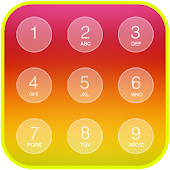 Folding Keypad Lock Screen APK for Bluestacks