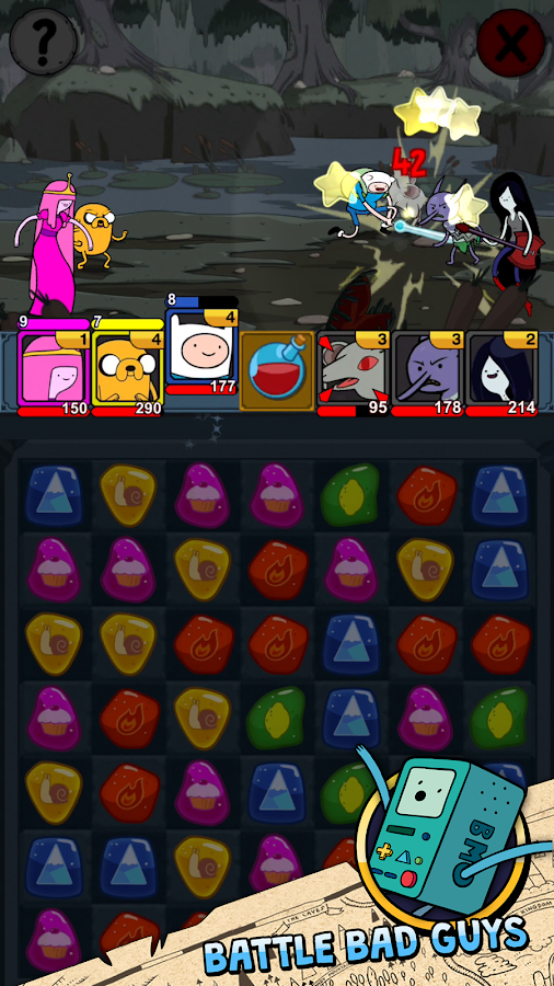 Adventure Time Puzzle Quest Screenshot 6