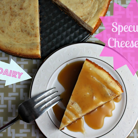 Non-Dairy Speculoos Cheesecake {recipe}