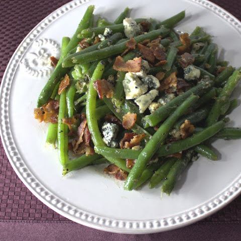 Bacon & Bleu Cheese Green Beans