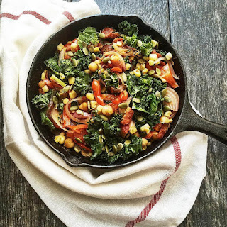 Hearty Vegetarian Skillet