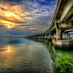 Penang Bridge by Hairi Mansur - Buildings & Architecture Bridges & Suspended Structures ( pwcbridges )